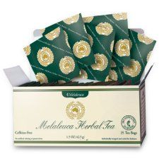 Melaleuca Tea....the most awesome cure for congestion!!