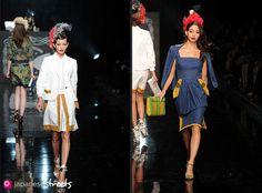 Spring/Summer 2012 Collection of Japanese fashion brand KEITA MARUYAMA TOKYO PARIS on October 21, 2011, during the Japan Fashion Week in Tokyo.