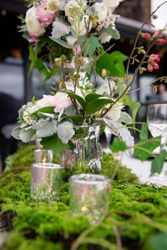 Today's nature inspired west coast shoot has tons of inspiration! In this feature you are going to see lots of natural greens which is perfect since. Pantone Greenery, Forest Scenery, Vancouver Wedding Photographer, Beautiful Table Settings, Complimentary Colors, Wedding Planners, Pantone Color, Wedding Details, Wedding Day