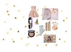 """""""Pity party"""" by pineapplesyay ❤ liked on Polyvore featuring RED Valentino, Charlotte Tilbury, tarte, Too Faced Cosmetics and Dorothy Perkins"""