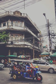 Photograph Tuk Tuk,China town by idin dezine on 500px