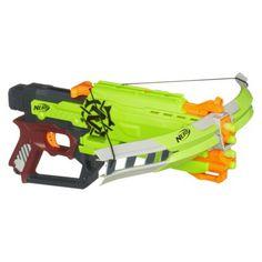 Nerf Zombie Strike Crossfire Bow Blaster OMG I sooooo want this!!!! LOL  #zombienerd