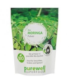PUREWELL - Bio Moringa Pulver  von www.feelgood-shop.com