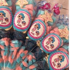 Birthday Sweets, Disco Birthday Party, Birthday Party Treats, Birthday Parties, Candy Bags, Candy Gifts, Sweet Cones, Sweet Bags, Doll Party