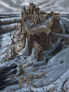 Skyrim Concept Art #skyrim #dawnguard #hearthfire -- Love some of these concept art examples.