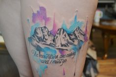 three sisters mountains tattoo - Google Search