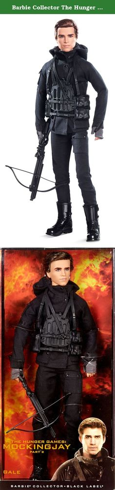 Barbie Collector The Hunger Games: Mockingjay Part 2 Gale Doll. Gale Hawthorne, together with Katniss and the rest of their trusted friends from District 13 engage in an all-out mass rebellion against the Capitol in the fourth and final installment of the Hunger Games franchise. Gale wears a detailed costume straight from the film, Mockingjay Part 2. His futuristic all-black outfit includes a coat with a high folded collar, utility harness with crisscrossing straps, fingerless gloves and…