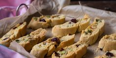 Rachel shares a delicious recipe for Italian Cantucci biscotti biscuits flavoured with orange zest, cardamom, pistachio and cranberry.