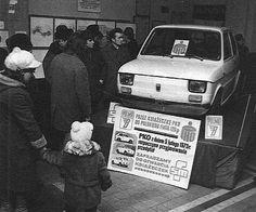 Poprzez książeczki PKO z dniem 5 lutego 1973 rozpoczyna się przyjmowanie przedpłat na wymarzone 4 kółka.