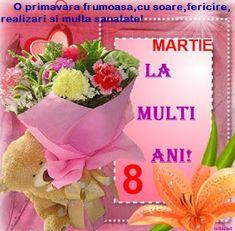 felicitari/iuliapad: 8 Martie 8 Martie, Tableware, Dinnerware, Tablewares, Dishes, Place Settings