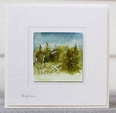 CC563 Mini scene by Biggan - Cards and Paper Crafts at Splitcoaststampers
