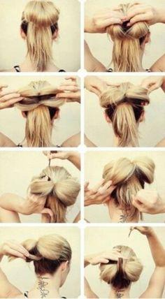How to do a bun