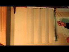 Vertical Blinds Cover On Pinterest Sliding Glass Doors