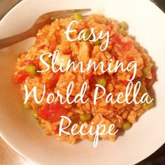 Easy Slimming World Paella Recipe.. | Food and Other Loves http://www.foodandotherloves.co.uk/2017/02/easy-slimming-world-paella-recipe.html