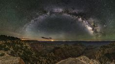 I visited the Grand Canyon's North Rim at night and it was incredible! [2000x1125] [OC] : EarthPorn