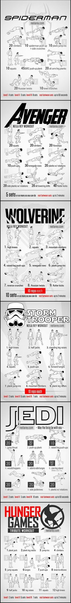 Workout as your favorite character... - The Meta Picture