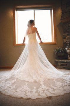 wedding dress {trendy bride}