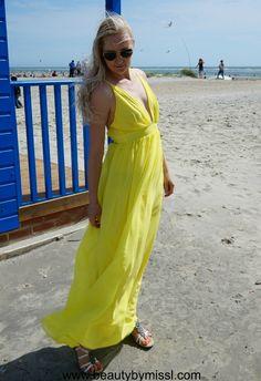 SheIn maxi dress via @beautybymissl