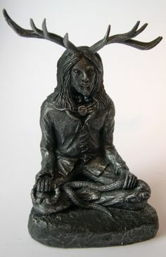 #cernunnos #herne Hedingham Fair Folk Pagan and Green Man, cards, gifts and t-shirts