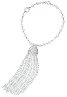 Ivanka Trump bracelet in 18k white gold with diamonds