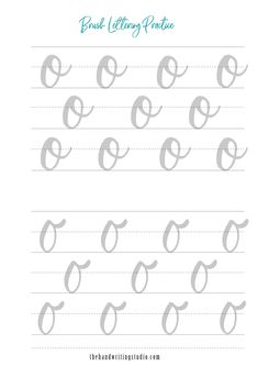 Brush Lettering Worksheets, Lowercase and Uppercase lettering Worksheets, Brush Calligraphy Printable Brush Lettering Worksheet, Calligraphy Worksheet, Lettering Guide, Hand Lettering Practice, Calligraphy Handwriting, Calligraphy Practice, Calligraphy Letters, Cursive, Learn Handwriting