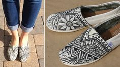 Custom TOMS // Style Your Sole