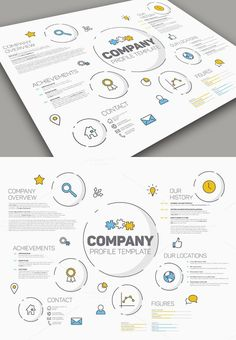 Company Profile PowerPoint Presentation Template PowerPoint - Unique company profile presentation template ideas