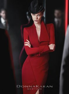 Donna Karan Fall | Another image from the Donna Karan fall 2012 ad campaign. Photographed ...