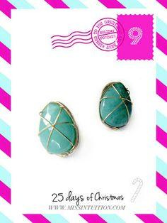 Jade Semi-Precious Stone Earrings