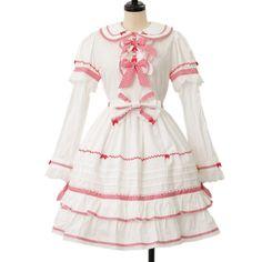 ♡BABY THE STARS SHINE BRIGHT♡ Rabbit's dress うさぎさんワンピース http://www.wunderwelt.jp/products/detail8222.html ☆・。 。・゜☆How to buy☆・。 。・゜☆ http://www.wunderwelt.jp/user_data/shoppingguide-eng ☆・。 。・☆ Japanese Vintage Lolita clothing shop Wunderwelt  ☆・。 。・☆ #btssb