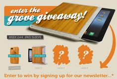 I have already pinned this product once, but here's to a chance to win one ^^ #grovegiveaway