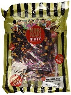 Shirakiku  Norimaki Mate Rice Crackers with Seaweed 12 Oz ** Want additional info? Click on the image.