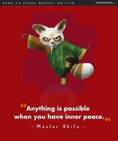 14 Life Lessons You Learn From The Infinite Wisdom Of Kung Fu Panda Disney Princess Quotes, Disney Movie Quotes, Cartoon Quotes, Joker Quotes, Kung Fu Panda Quotes, Positive Energy Quotes, Life Quotes Wallpaper, Alice And Wonderland Quotes, King Quotes