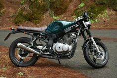 Find out more about just a few of my most favorite builds - tailor made scrambler concepts like this Gs 500 Cafe Racer, Cafe Racer Seat, Suzuki Cafe Racer, Cafe Racer Build, Street Scrambler, Scrambler Motorcycle, Custom Motorcycles, Custom Bikes, Gs500