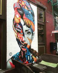 Audrey of Mulberry - Tristan Eaton NYC