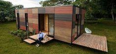 Un refugio modular moderno para todo tipo de terrenos