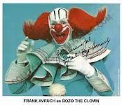 Bozo the Clown- He seems so creepy now!