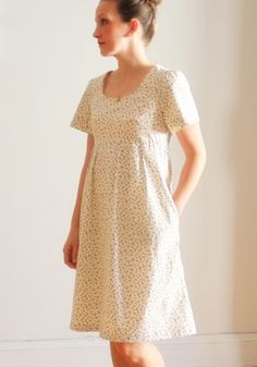 One of the prettiest Washi dresses we've seen yet!  Pioneer Washi by slfarns