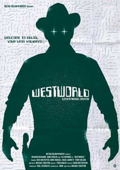 WESTWORLD Art Print