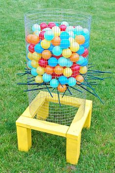Make It: 5 DIY Lawn Games | Apartment Therapy Would be a fun late spring/early summer program