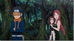 Obito, Rin, and Kushina