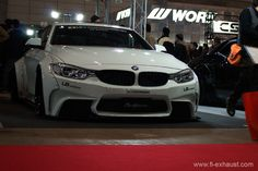 Woofoo! Even this German beast has wide body! LB BMW F82 M4 w/ Fi Exhaust !