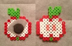 Apple perler bead magnet by Elly-Monshtawr on deviantart