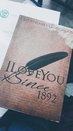 """is reading this fictional book of """"I Love You Since Book Wallpaper, Wallpaper Quotes, Pop Fiction Books, I Love You, My Love, Wattpad Books, My Escape, Book Photography, Peter Pan"""