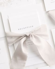 The invitation shown is our Poppy design printed in black ink with a mocha garden rose envelope liner and tied with mink silk ribbon. Ribbon invitations come st Gifts For Wedding Party, Diy Wedding, Wedding Events, Dream Wedding, Wedding Day, Wedding Things, Garden Wedding, Weddings, Wedding Invitation Suite