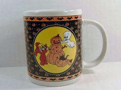 Casper The Friendly Ghost and Wendy Witch Coffee Mug, Casper and Wendy Mug