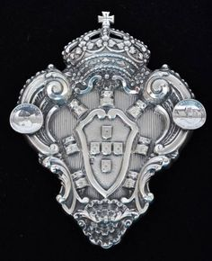"""Cinzeiro em prata portuguesa contraste """"Águia """".."""
