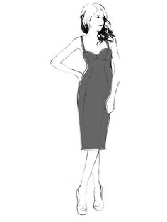 Georgia Dress - PDF sewing pattern – By Hand London Dress Sewing Patterns, Clothing Patterns, By Hand London, Bustier Dress, How To Make Clothes, Cool Fabric, Sewing Clothes, Playing Dress Up, Dressmaking