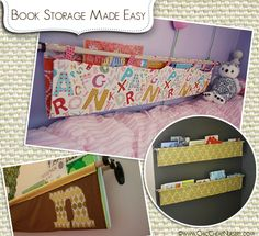 Book Storage for the Kids Room