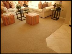 HomeAdvisor's Carpet Installation Cost Guide gives average carpet prices by type and style. Calculate new carpeting costs per square foot to install or replace by room size sq ft, or by type (whole house, bedroom, basement). Cost To Install Carpet, Cost Of Carpet, Types Of Carpet, How To Clean Carpet, Wall Carpet, Diy Carpet, Carpet Stairs, Modern Carpet, Carpet Ideas